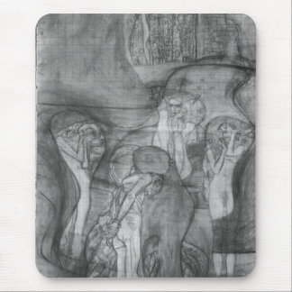 Composition draft of the law faculty image - Klimt Mouse Pad