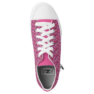 composition in rose Low-Top sneakers