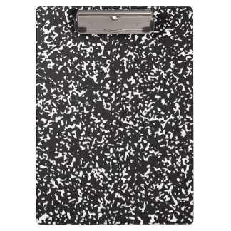 Composition Notebook Clipboard