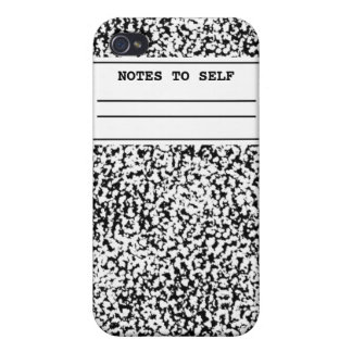 Composition Notebook  iPhone 4/4S Case