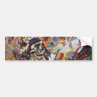 Composition VII Bumper Sticker