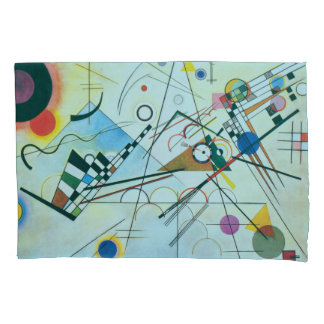 Composition VIII by Wassily Kandinsky Pillowcase