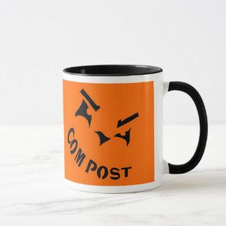 Compost Jack-o-Lantern Mug