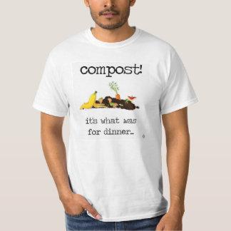 Composting your food scraps! T-Shirt