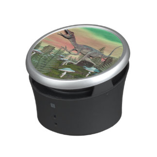 Compsognathus dinosaur - 3D render Bluetooth Speaker