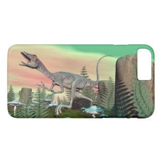 Compsognathus dinosaur - 3D render iPhone 8 Plus/7 Plus Case