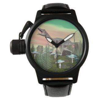 Compsognathus dinosaur - 3D render Watch