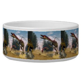Compsognathus dinosaurs - 3D render