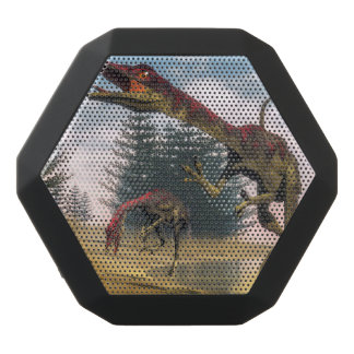 Compsognathus dinosaurs - 3D render Black Bluetooth Speaker