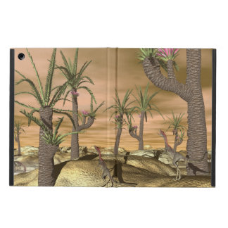 Compsognathus dinosaurs - 3D render Cover For iPad Air