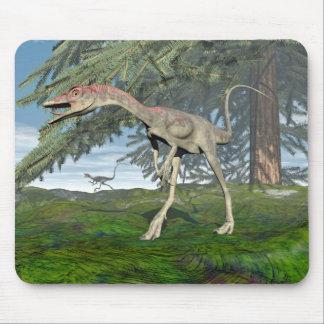 Compsognathus dinosaurs - 3D render Mouse Pad