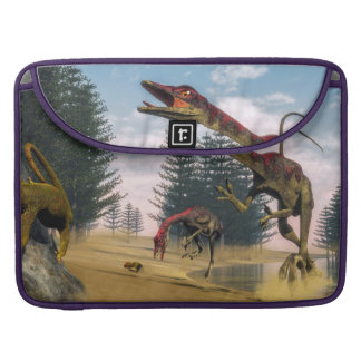 Compsognathus dinosaurs - 3D render Sleeve For MacBooks
