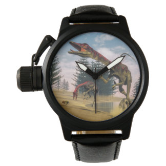Compsognathus dinosaurs - 3D render Watch