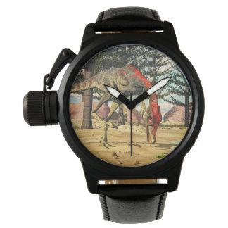 Compsognathus dinosaurs - 3D render Watches