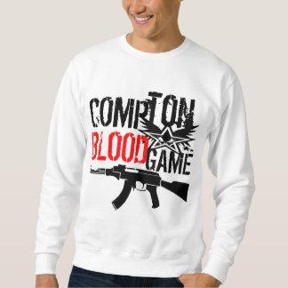 Compton Blood Game By Kruskullz Sweatshirt