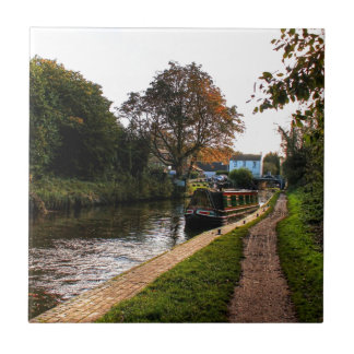 Compton canal and barge tile