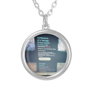 Compuer Picture Necklace