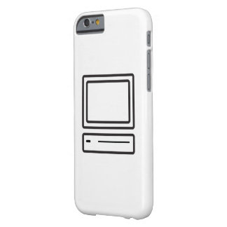 computer barely there iPhone 6 case