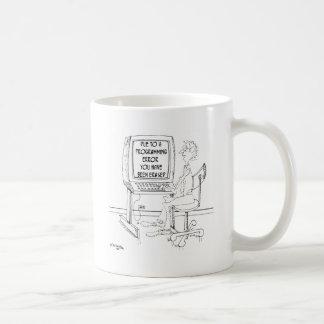 Computer Cartoon 1164 Coffee Mug