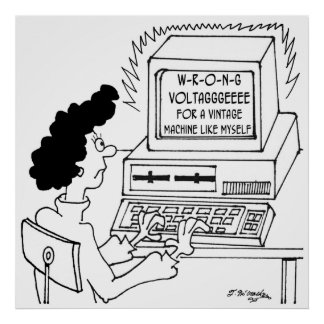 Computer Cartoon 4369 Poster