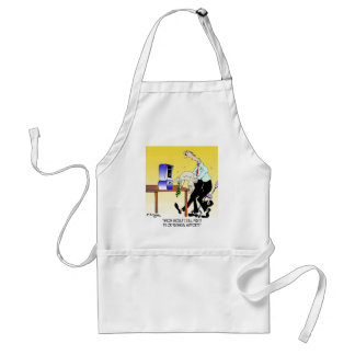 Computer Cartoon 6990 Standard Apron
