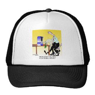 Computer Cartoon 6990 Trucker Hat
