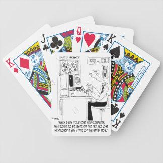 Computer Cartoon 7058 Bicycle Playing Cards