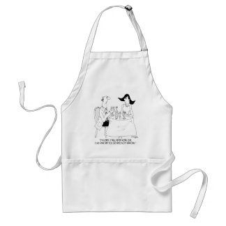 Computer Cartoon 8030 Standard Apron