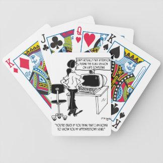 Computer Cartoon 8036 Bicycle Playing Cards