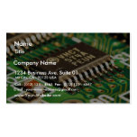 Computer Chips Circuits Boards Business Card Template