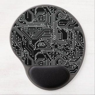 Computer Circuit Board Gel Mouse Pad