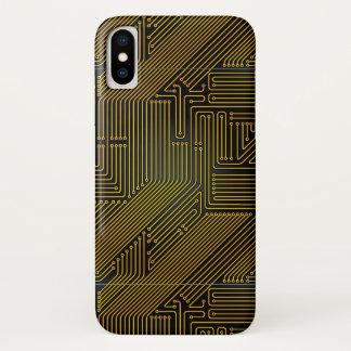 Computer circuit board pattern Case-Mate iPhone case