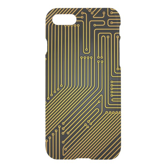 Computer circuit board pattern iPhone 7 case
