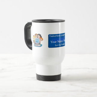 Computer Club Name badge Mug