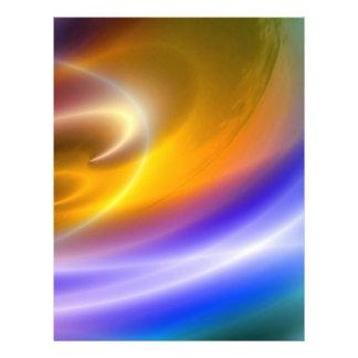 Computer Digital Abstract Flyer Design