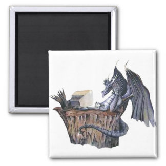 Computer Dragon Magnet