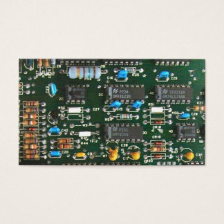Computer Electronics Printed Circuit Board Business Card