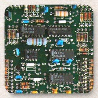 Computer Electronics Printed Circuit Board Coaster