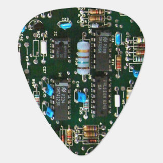 Computer Electronics Printed Circuit Board Guitar Pick