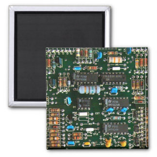 Computer Electronics Printed Circuit Board Magnet