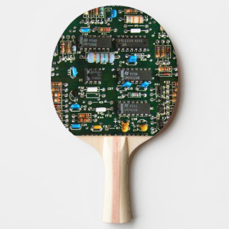 Computer Electronics Printed Circuit Board Ping Pong Paddle