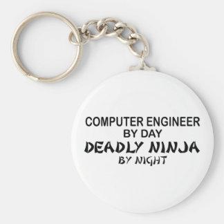 Computer Engineer Deadly Ninja Key Chains
