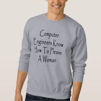 Computer Engineers How How To Please A Woman Sweatshirt
