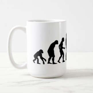 Computer Evolution Coffee Mug