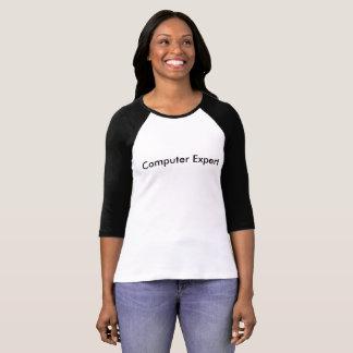 computer expert women's long sleeve T-Shirt