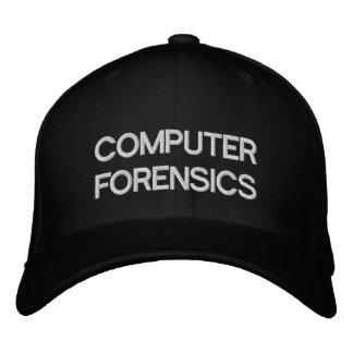 COMPUTER FORENSICS BASEBALL CAP