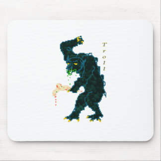 Computer Game Troll Mouse Pad