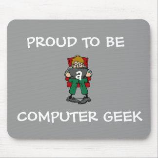 Computer Geek Mousepad (grey)