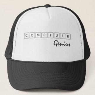 Computer Genius Trucker Hat