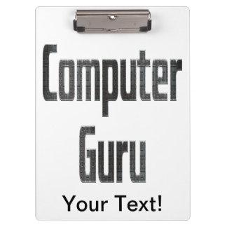 Computer Guru Grey Clipboards